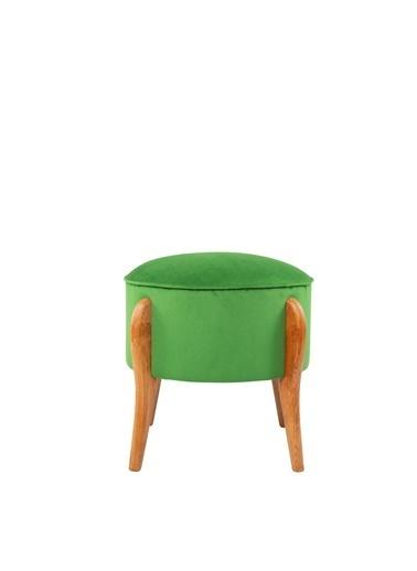 Ze10 Design Lockett Puf Çimen Yeşili Yeşil